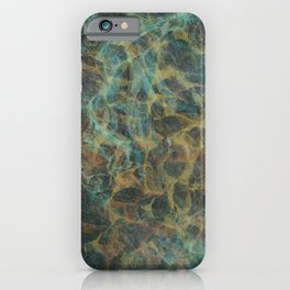 fire, leaves, (and/or) magnification iPhone Case