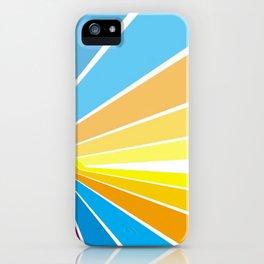 Stripes universe iPhone Case