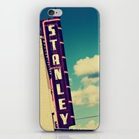 stanley kubrick iPhone & iPod Skins featuring Stanley by Trish Mistric