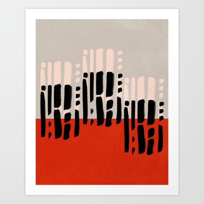 Modern minimal 01 Art Print