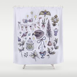 Ravenclaw, Creativity and Wit Shower Curtain