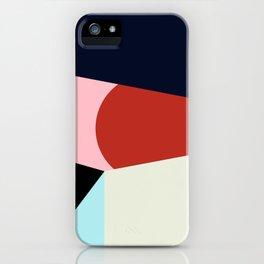 Circle Series - Red Circle No. 1 iPhone Case