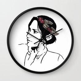 Josephine Flower Crown Wall Clock