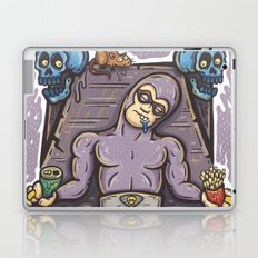 THE GHOST WHO SNACKS Laptop & iPad Skin