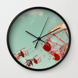 Fun Of The Fairground Wall Clock