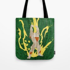 Call Me, Jimmy (Homage to Blanka from Street Fighter) Tote Bag