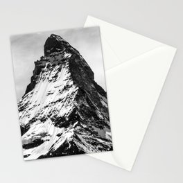 matterhorn switzerland mountain Stationery Cards