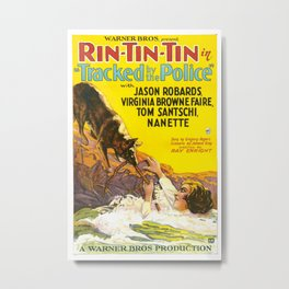 Vintage poster - Rin-Tin-Tin Metal Print