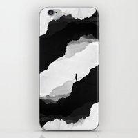 leaves iPhone & iPod Skins featuring White Isolation by Stoian Hitrov - Sto