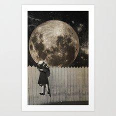 untitled Collection -- Backyard Art Print