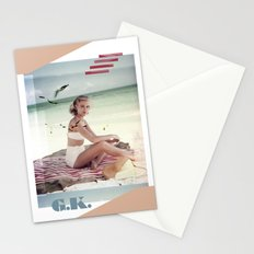 G.K. Collage Stationery Cards