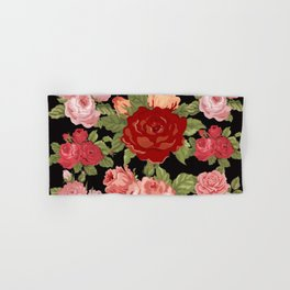 FLOWERS FOR MOM Hand & Bath Towel