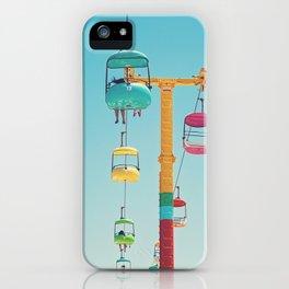 Gondolas - Santa Cruz, California iPhone Case