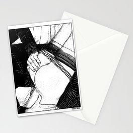 asc 488 - Les mains chaudes (Until his hands burn) Stationery Cards