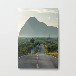 Road to Ao Phang-nga National Park, Phuket Thailand Metal Print