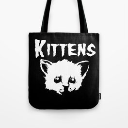 Goth Kittens Tote Bag