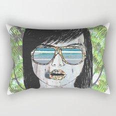 Tropical Zombie  Rectangular Pillow