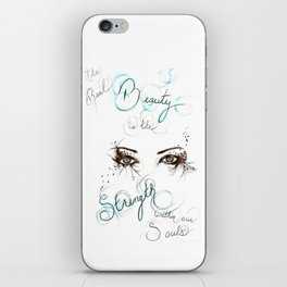Real Beauty iPhone Skin