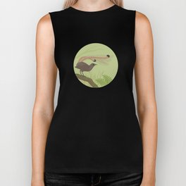 Superb Lyrebird Biker Tank