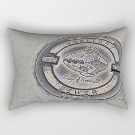 Alien Iron Works Rectangular Pillow
