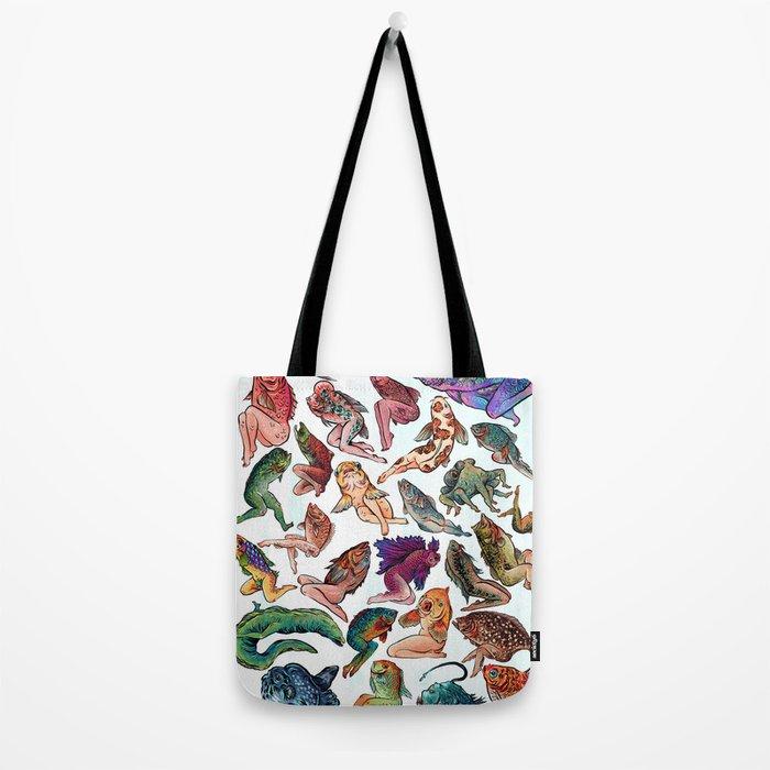 Reverse Mermaids Tote Bag