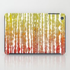 psychedelic stripes - red iPad Case