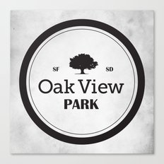 Oak View Park Canvas Print