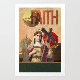 Collection Saints - Rise Of Mary Art Print