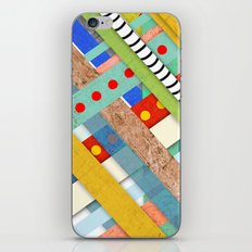 Geometric Architecture Striped iPhone & iPod Skin