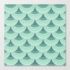 Ocean Fan Tail. Canvas Print