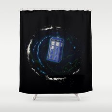 Space and Time and the Universe Shower Curtain