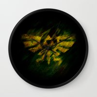 triforce Wall Clocks featuring Triforce by Ralf Crawford