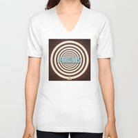 focus V-neck T-shirts featuring Focus by Phil Perkins