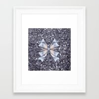 silver Framed Art Prints featuring Silver by Elena Indolfi