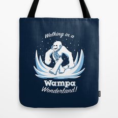 Walking in a Wampa Wonderland Tote Bag
