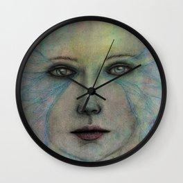 On Gossamer Wings Wall Clock