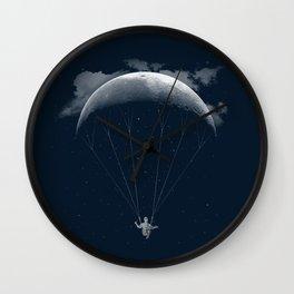 Parachute Moon Wall Clock