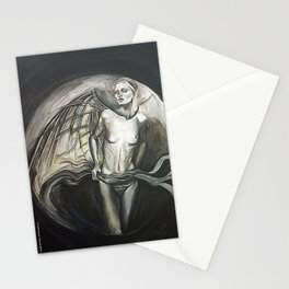 Rehearsing Ascension - by Fanitsa Petro Stationery Cards