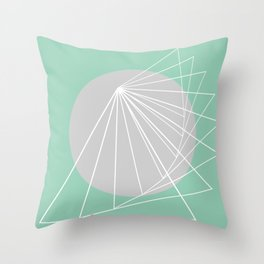 Everything belongs to geometry #5 Throw Pillow