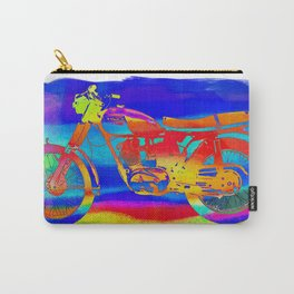 Triumph Dayglo Motorcycle Carry-All Pouch