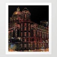 building Art Prints featuring Building by Dangerpro