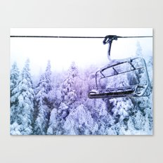 chairlift Canvas Print