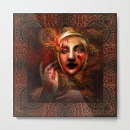"""The Blood Maja"" Metal Print"