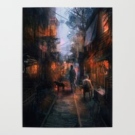 Barrio in the SE Poster