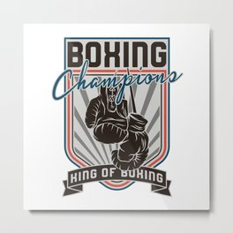 Sports - Heavyweight - Boxing Champions Metal Print