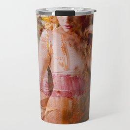 painted lady Travel Mug