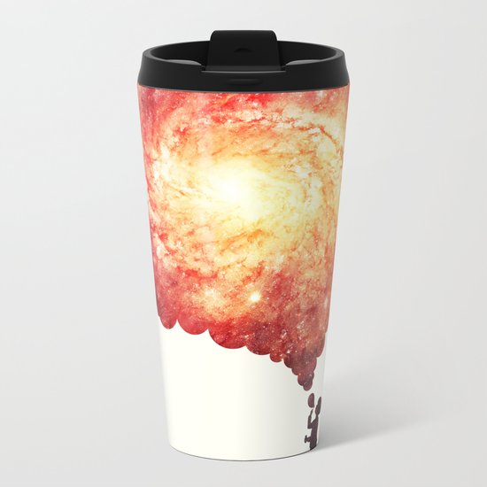 The universe in a soap-bubble! Metal Travel Mug