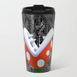Black Piranha Travel Mug