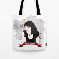Pulp Fiction's Mia Wallace Tote Bag