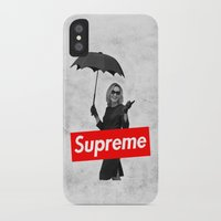 supreme iPhone & iPod Cases featuring The Supreme by Dandy
